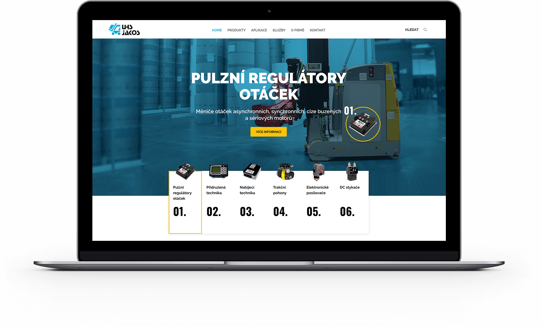 Webové stránky ZAPI Service